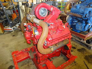 Detroit Diesel 6v92t Engine Turbo Runs Exc Fire Pump Industrial 92