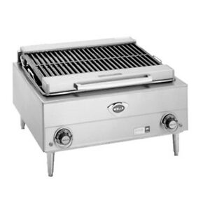 Wells B 40 24 Wide Electric Countertop Charbroiler
