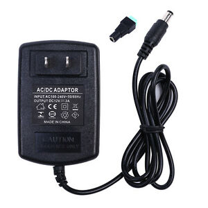 12v 2a 24w Ac dc Adapter Charger Power Supply For Cctv Dvr Camera Led Light