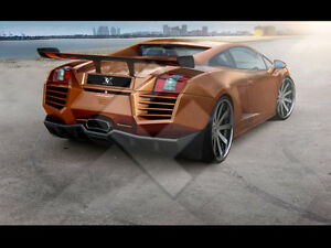 Lamborghini Gallardo Body Kit Rear Bumper Exhaust Tip