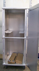 Newage Universal Enclosed Transport Cabinet Bakery Rack O d 27 X 29 5 X 70 5