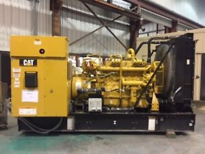 Cat G3406 Natural Gas 240kw Generator 2006 600hrs Since New