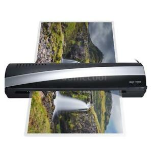 A3 13 2 Rollers Ducument Photo Paper Hot cold Thermal Laminator Laminating P4w2