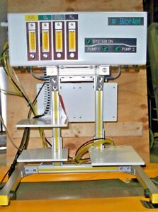 Broadley James Bionet Gas Module W 3 Roto Meter And Internal Brooks Masflow Cont