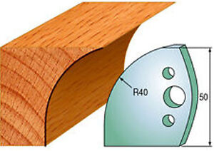 Cmt 690 565 Profiled Knives For Shaper Cutters 1 31 32 inch Cut Length 2 Pack