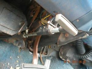 1973 Dart Emergency E brake Handle Assembly