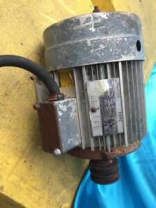 5 Hp Lincoln Electric Motor Three Phase