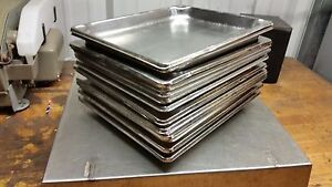 18 Steam Buffet Table Pans 10 1 2 X 12 1 2 X1 Stainless Steel Half Third Quarter