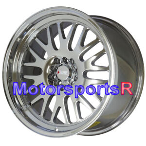 Xxr 531 Wheels 18 35 Pvd Chrome Rims Staggered 5x114 3 05 09 11 Ford Mustang Gt