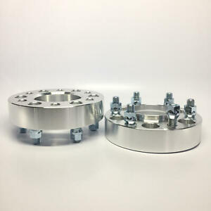4x 2 Hubcentric Wheel Spacers 6x120 66 9 Fits Chevy Canyon 6lug Adapters