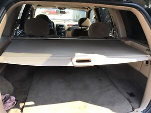 1999 2004 Jeep Grand Cherokee Retractable Cargo Cover Privacy Shade Tan