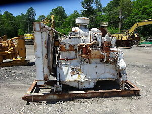 Caterpillar D 353 Diesel Engine Power Unit Complete D9h D9g D353 Cat
