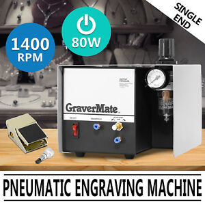 Pneumatic Impact Machine Foot Pedal Control Jewelry Engraving Compressed Air