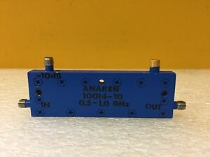 Anaren 10014 10 0 5 To 1 Ghz 10 Db 50 W Sma f Directional Coupler Tested