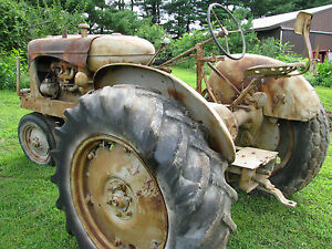 Vtg Allis Chalmers Wc For Restoration