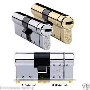 Avocet Abs High Security Euro Cylinder Anti Snap Lock Ts007 3 Star
