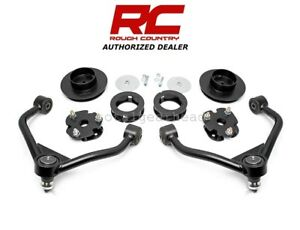 2012 2018 Ram 1500 4wd 3 Rough Country Suspension Bolt on Lift Kit 31200
