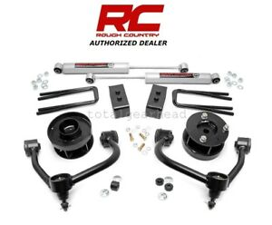 2009 13 Ford F 150 4wd 3 Rough Country Suspension Bolt On Lift Kit W N3 54430