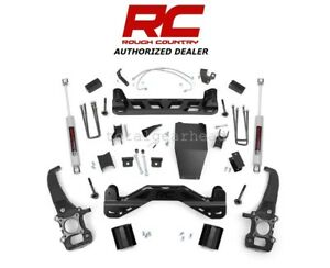 2004 2008 Ford F 150 4wd 4 Rough Country Suspension Lift Kit W n3 54720
