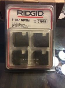 Ridgid emerson Part Number 37975 Dies 12r 1 1 4 Npsm