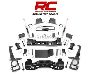 2011 2013 Ford F 150 4wd 6 Rough Country Suspension Lift Kit W N3 558s