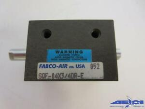 Fabco air Sqf 04x3 4dr e Square 1 Compact Air Cylinder