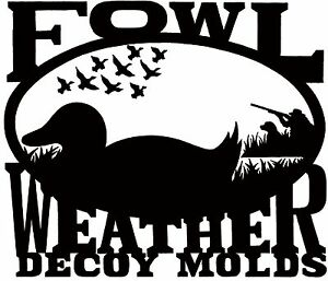 Duck Decoy Body Mold - Puddle Duck - X-Large