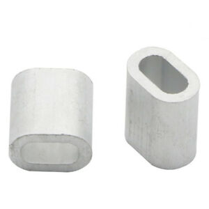 Aluminium Wire Rope Ferrules Crimping Sleeves 0 5mm To 8mm Fz