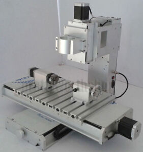 4 Axis Engraving Machine Supporting Frame Unit Cnc 3040 Router Table Column Type
