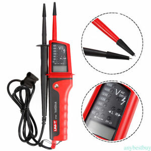 Uni t Ut15b Ut15c Voltage Tester Led Lcd Display Continuity Pen Meters Tester Ch