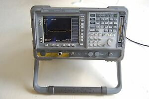 Agilent E4407b b72 1ax baa ayx Spectrum Analyzer 9khz To 26 5ghz