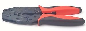 Ratchet Crimping Tool interchange Dies Pin Terminal insulated non insulated Ferr