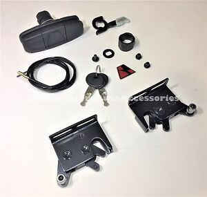 Leer Truck Cap And Tonneau Cover Handle 113436 And Latches 83514 83515 Combo