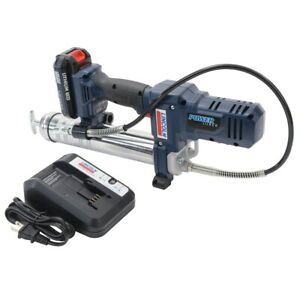 Lincoln 1262 Powerluber Battery Powered 12 Volt Lithium Ion Cordless Grease Gun