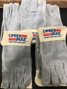 5 Pair Memphis 1735xl Big Jake Leather Gloves With Kevlar Size X Large