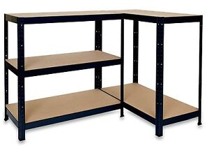 Boltless Shelving Heavy Duty Rack For Home Warehouse Shop Display Garage Shed