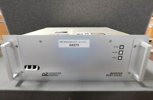 Advanced Energy 3000 000 a Inverter Post accel