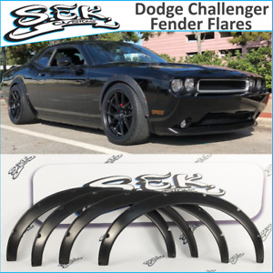 Dodge Challenger Srt 08 16 Fender Flares Set Wide Body Kit Abs Plastic