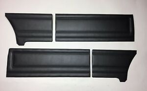 1971 Plymouth Duster Door Panels Choose Color Black Woodgrain Chrome White Blue