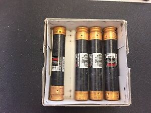 lot Of 4 Fusetron Frs r 50 Time Delay Fuse 50amp 600v