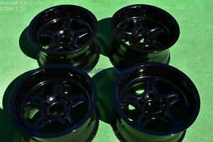 17 Weld Cheyenne Forged 5x5 5 Wheels Gloss Black Dodge Ram 1500 Dakota 5x139 7