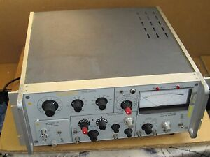 Princeton Applied Research Par 126 Lock in Amplifier With Par 117 Differential P
