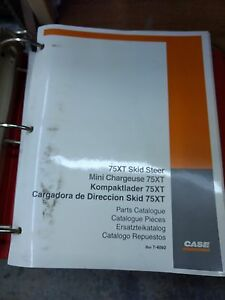 Case 75xt Skid Steer Loader Parts Catalog Manual 75 Xt