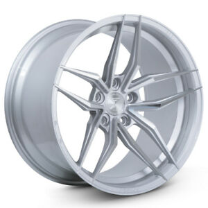 20 Ferrada F8 fr5 Silver Forged Concave Wheels Rims Fits Ford Mustang Gt