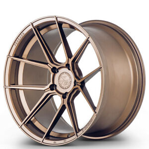 20 Ferrada F8 fr8 Bronze Forged Concave Wheels Rims Fits Ford Mustang Gt