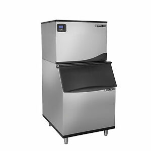New Maxx Ice 521lb 30 Modular Commercial Ice Maker With 430lb Ice Storage Bin