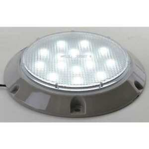 Maxxima M84405 b Dome Light 15 Led 5 1 2 In Round Clear