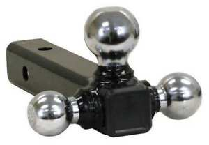 Buyers Products 1802207 Triple Hitch Ball Chrome