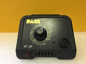 Pace St25 7008 0227 01 115 Vac 50 60 Hz 90 W Soldering Station Tested