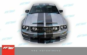 For Mustang 2005 2009 05 06 07 08 09 Ford Gt500 Style Fiberglass Hood Gt500 152h